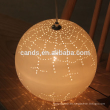 Luz colgante colgante de cerámica