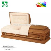 Qualidade original madeira fábrica especializada fornecemos caixões