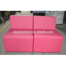 sectional single seater sofa in pink XYN442