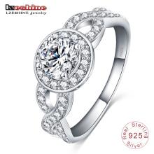 Value 925 Sterling Silver Wedding Ring Designs (SRI0006-B)