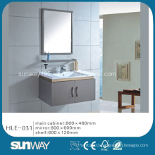 Hot Sell Silver Mirror Stainless Steel Bathroom Cabinet