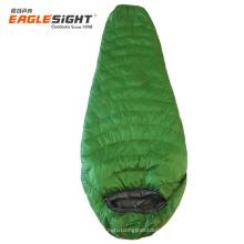 Ultralight Mummy waterproof  fluffy cotton sleeping bag camping