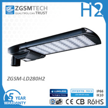 La luz de la carretera de Hangzhou LED fabrica la luz de calle de 280W LED