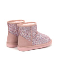 Cute Winter Warm Bling Bling Sparkling Kids Boots