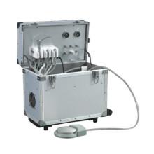 Портативный стоматологический аппарат с головным светом
