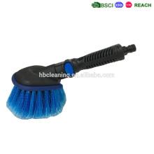 KD / flujo de agua desmontable del cepillo de la rueda del coche, precio barato alta calidad y manija corta
