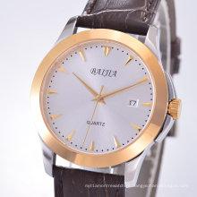 Relógios automáticos de aparência simples para homens