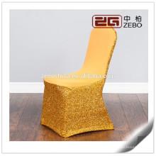 La boda colorida de calidad superior utilizó lavable al por mayor Banquet Chair Covers