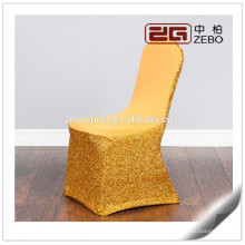 Top Quality Colorful Wedding Used Washable Wholesale Banquet Chair Covers