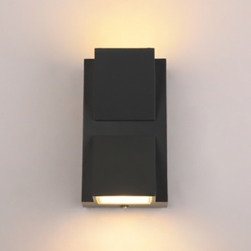 6W K-shaped up and down outdoor wall light