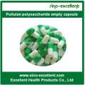 Gemüse-Kapseln Pullulan Polysaccharid Leere Kapsel