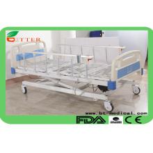 Cama de hospital elétrica de três funções