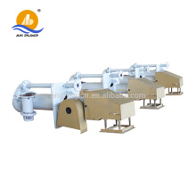 Vertical sump pit pump for sewage treatment