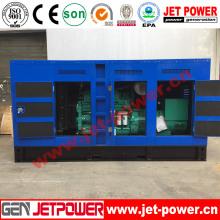 Звукоизолированный дизельный генератор мощностью 160 кВт с двигателем Doosan