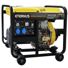 Easy Move Diesel Portable Generator (BM6500XE)
