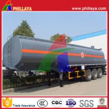 Carbon Steel Fuel Diesel Liquid Tank Truck Semi Trailer Tanker