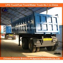 Heavy Duty 2 Axle 40ton Dumper/End Tipper Truck Trailer