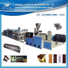 Línea de producción de extrusión de tablero de gabinete de pared de PVC de puerta ancha