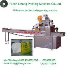 Gzb-350A Machine de conditionnement automatique de flux de tissu jetable à coussins haute vitesse Gzb-350A