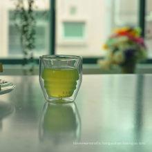 2oz Fancy Mini Double Wall Tea Cup
