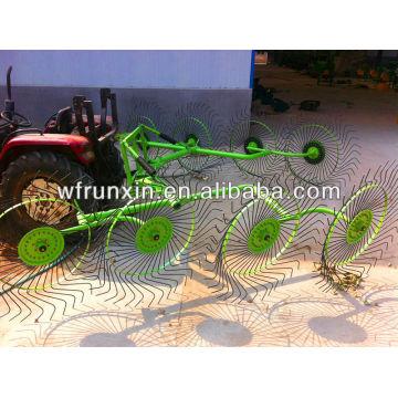 High quality finger wheel hay rake factory direct sale