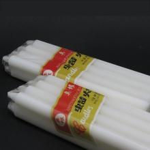 Preço barato velas vermelhas e brancas