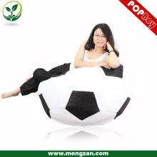 Fútbol diseño impreso al aire libre impermeable bean bolsa de sofá
