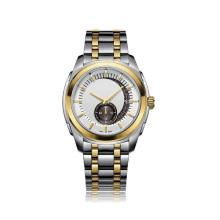 Men′s Stainless Steel Mechanical Watch at 50meters Water Resistance, Eta Movement
