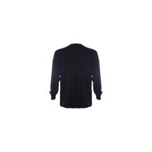Camiseta de manga larga con cuello redondo para hombre