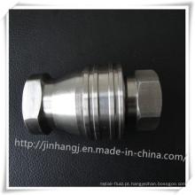 Conector pneumático de esfera de aço inoxidável