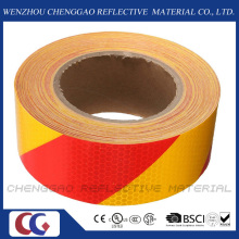 50mm X 45.7m Stripe Safety Reflective Hazard Self Adhesive Warning Tape (C3500-S)