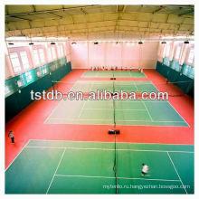 Высокое качество ПВХ спортивные полы заезд для игры в теннис в помещении
