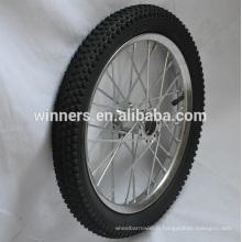 large roue de bicyclette en acier 16 pouces