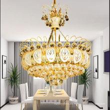 candelabro cuentas de cristal escaleras de cristal lámpara de luz LT-70063