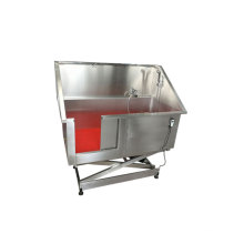 Stainless Steel Dog Grooming Tubs Hospital Dog Shower Convenient Pet Bath