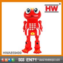Alta qualidade de plástico DIY transformar brinquedos do telefone móvel pequeno para crianças