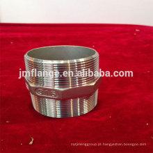 Aço inoxidável 304 / 316l hexágono mamilos