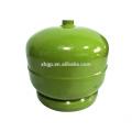 Vente chaude de petits réservoirs de stockage de bouteilles de gaz en vrac 2KG pour le GPL