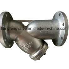 Stainless Steel Flange End Y-Strainer