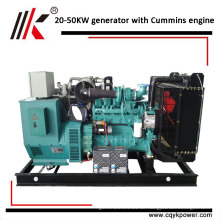 Land-Detroit-Dieselgenerator benutzte Diesel-dynamo Wechselstromerzeuger 25kva 20kw cum-Motoren