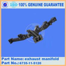PC200-7 EXHAUST MANIFOLD 6735-11-5120
