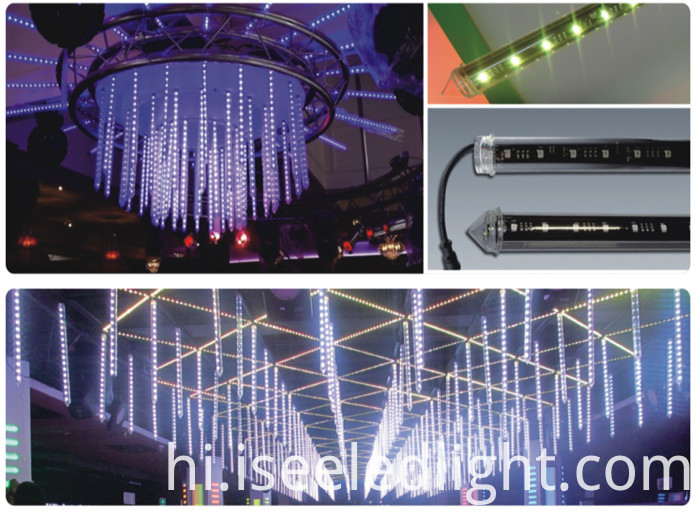 LED 3D Tube Club ceiling deco