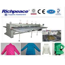 Máquina de coser automática de Richpeace ---- Forme la chaqueta de cuero, chaqueta de cuero,
