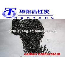 Carburant de carburateur / recarburger de carbone fixé par niveau supérieur d'exportation pour le carbone d'acier