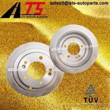 Piezas de automóvil disco de freno auto 584113F000 432067Y000 43206JA00B para KIA Amanti