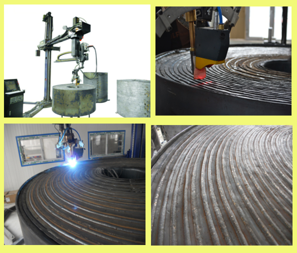 Spiral Plate Heat Exchanger Welding Robot