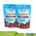 Oem Factory Custom Made Fda Approved Plastic Food Packing Dried Friuit Stand Up Bag With Zipper