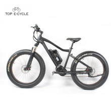 Hot sale 26inch front fork suspension fat tire mountain electric bike