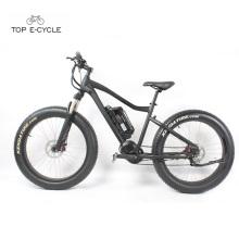 Venda quente 26 polegadas garfo dianteiro da suspensão da gordura do pneu bicicleta elétrica montanha