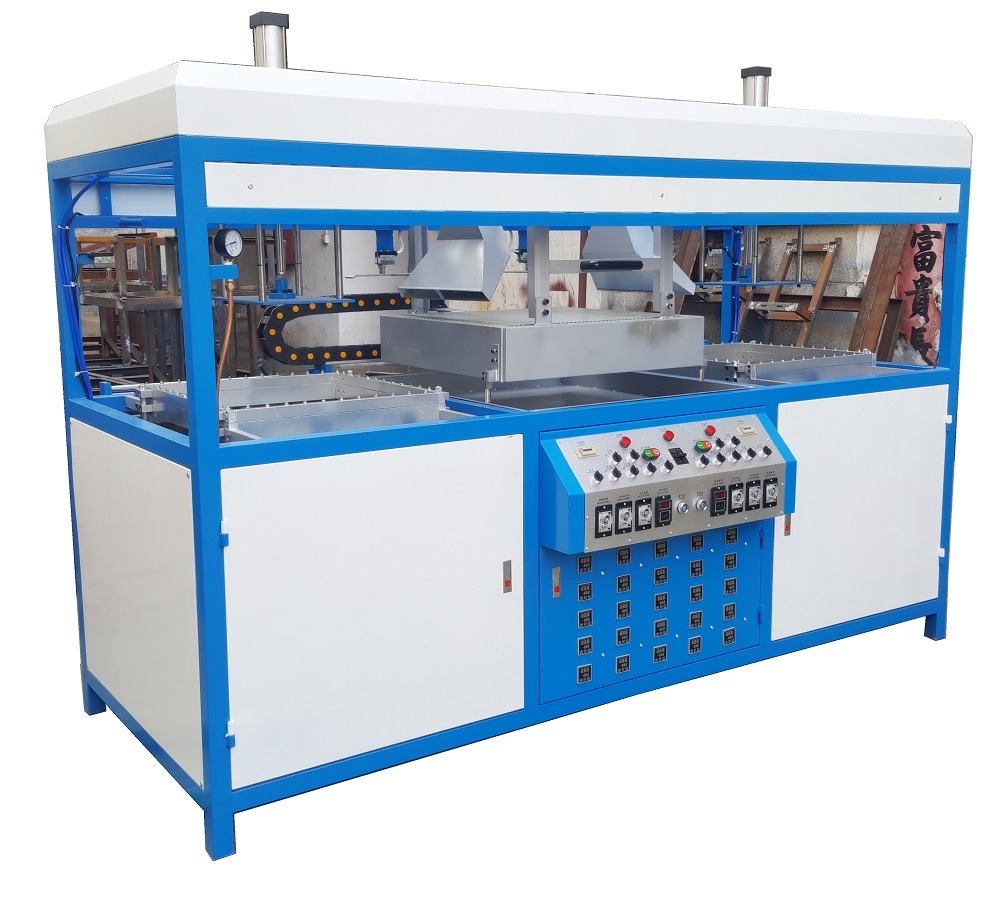 Double Stations Vacuum Forming Machine